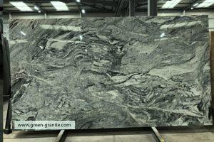 Granite slab counter