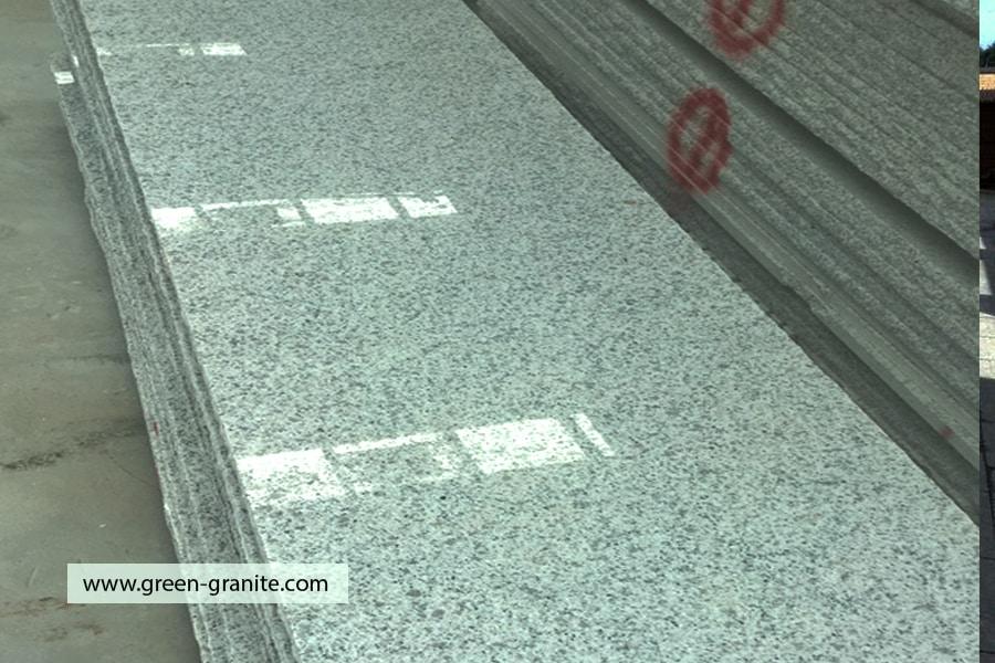 Shiny granite